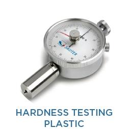 Hardness testing of plastics (Shore)