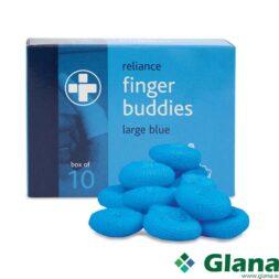 Blue Finger Buddies Large
