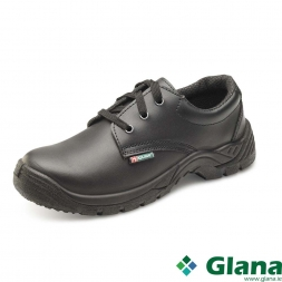 B-CLICK Dual Density Smooth Tie Shoe