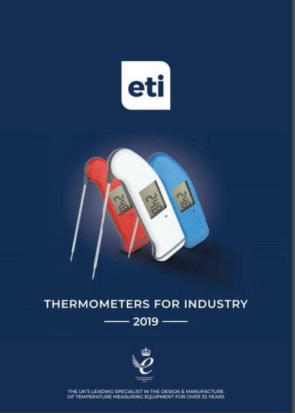 Catalogue ETI Thermometers For Industry