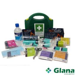 1-10 Person First Aid Kit Burns & Eyewash 500ml