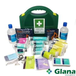 11-25 Person First Aid Kit HSA Burns & Eye