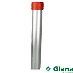 Aluminium Handle with Grip 1270 mm