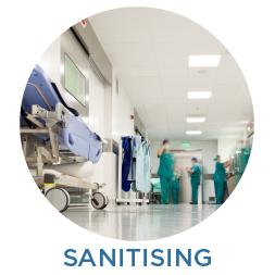 Sanitising